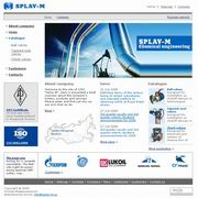 "English version of website of machinery company ""Splav-M"""